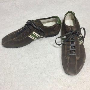 adaa488ec1158 NEW GEOX Respira Mens Classic Sporty Suede Sneaker